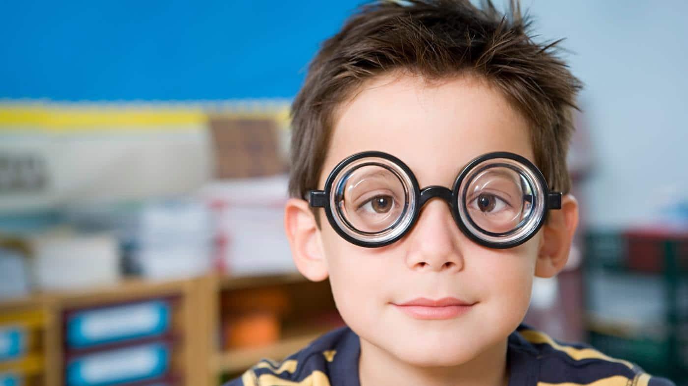 Детей фото в очках