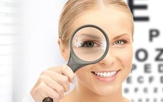 Виды тестов для диагностики близорукости