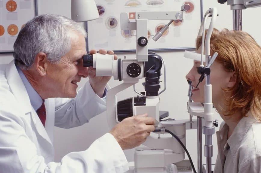 Диагностика ячменя на глазу