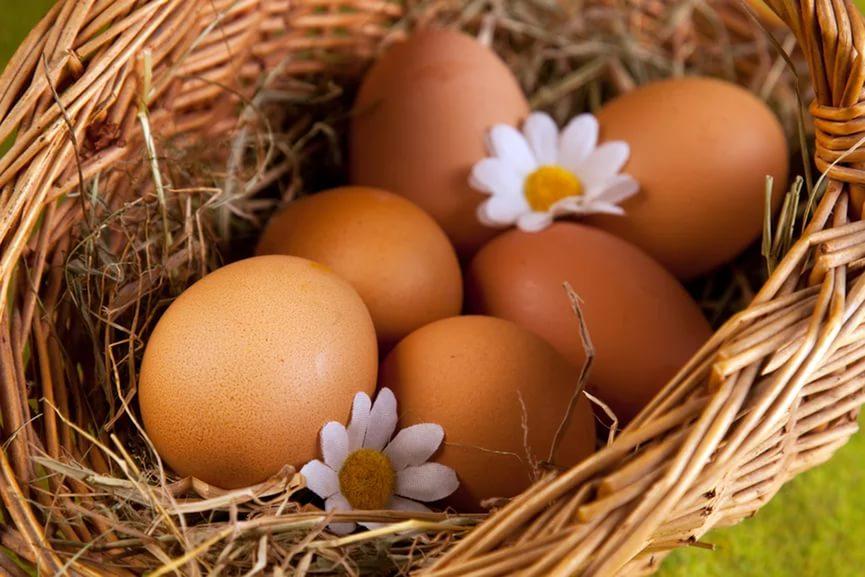 Прогревание ячменя яицом