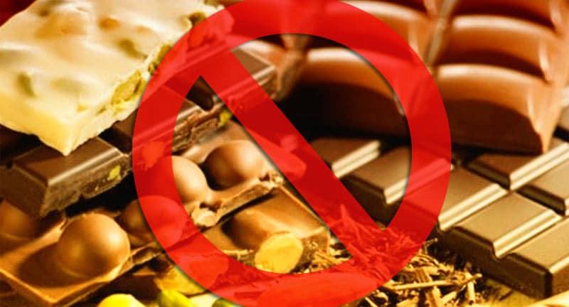 Запрет шоколада