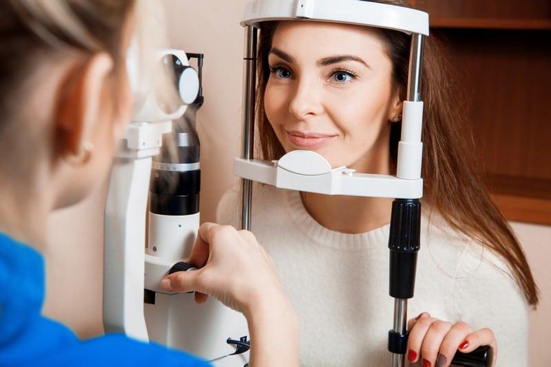 Диагностика остроты зрения
