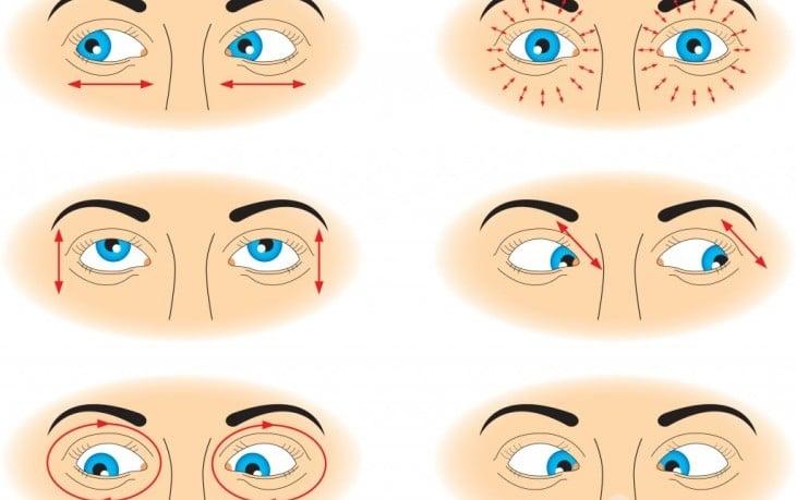 Гимнастика для глаз при дальнозоркости