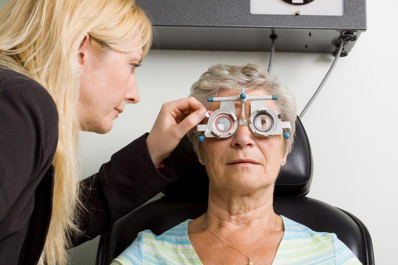 Диагностика зрения при дальнозоркости