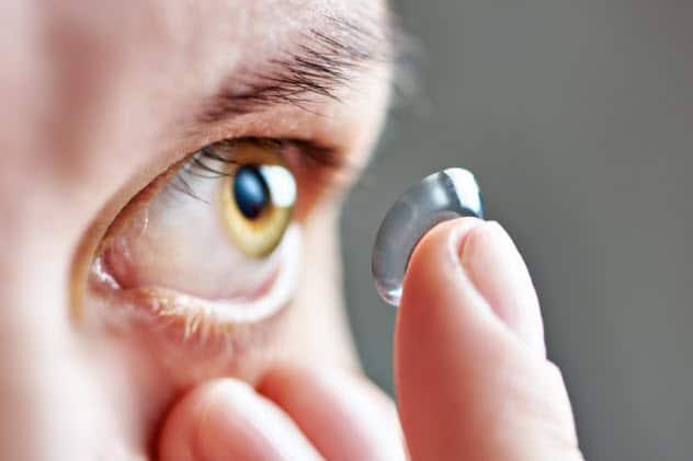 Контактные линзы для органов зрения