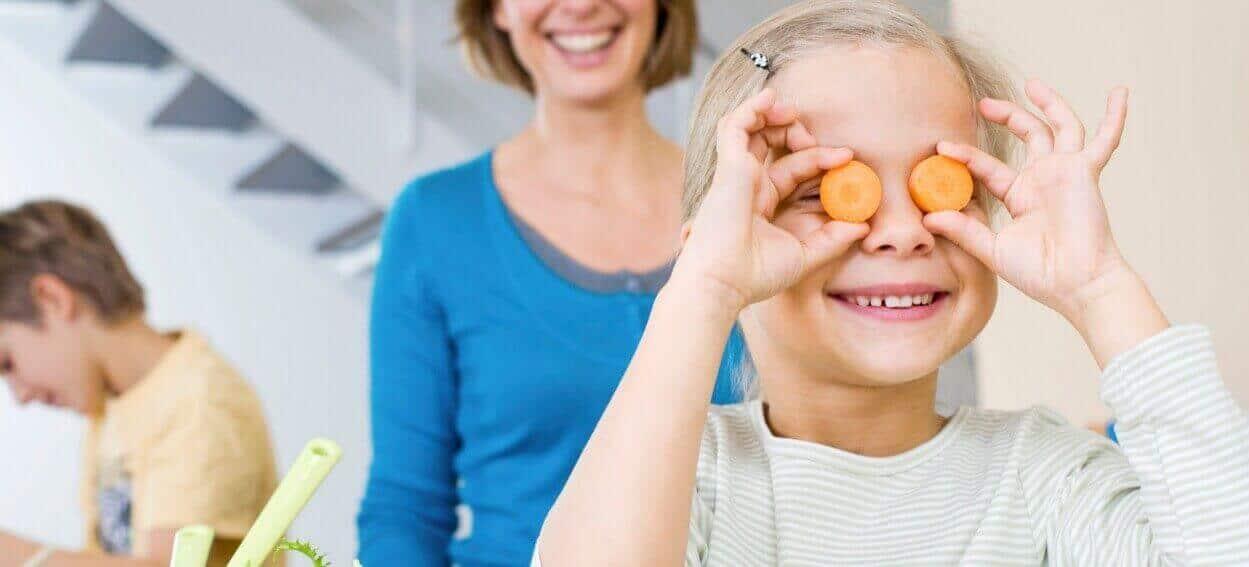 Витаминные продукты для глаз