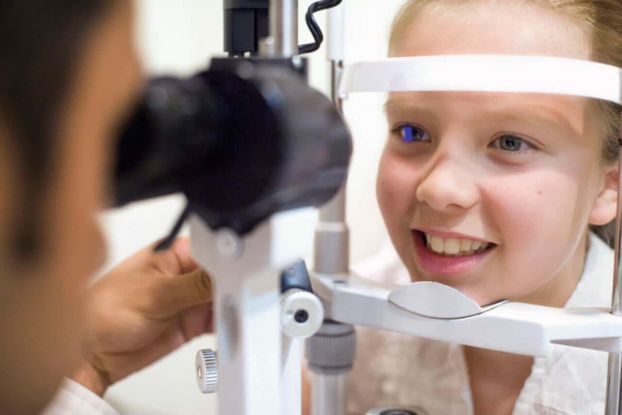 Диагностика глаз у детей