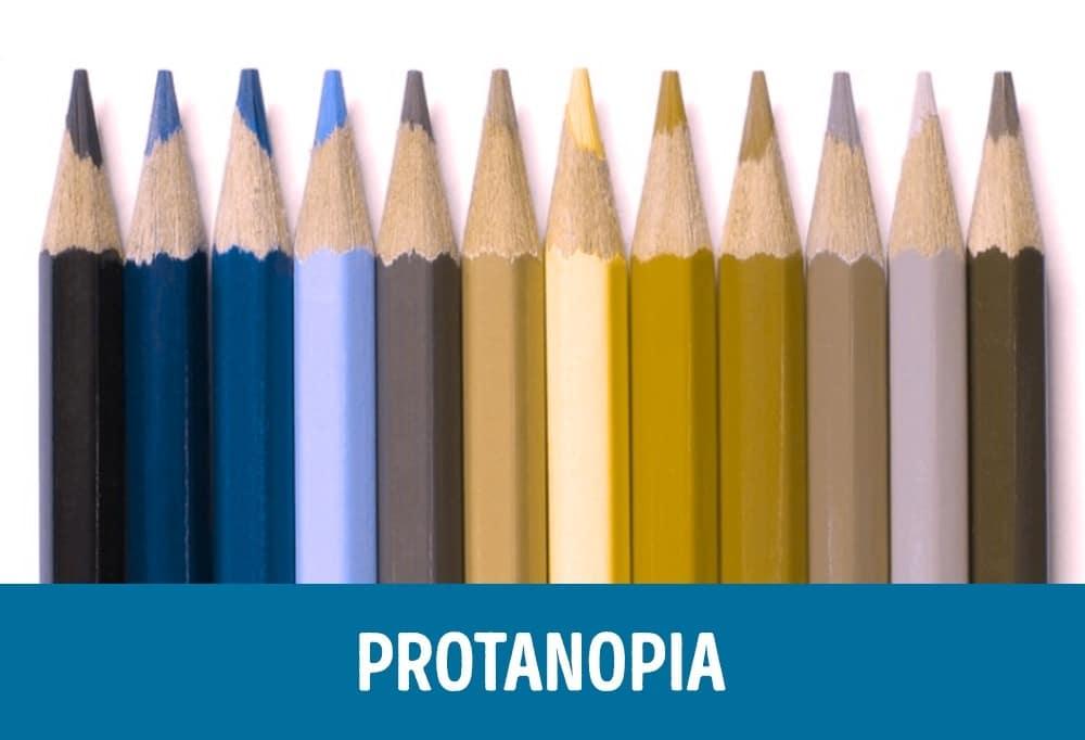Как видит человек с протанопией