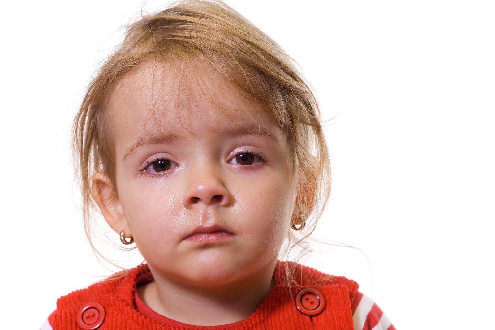 Воспаление глаз у детей