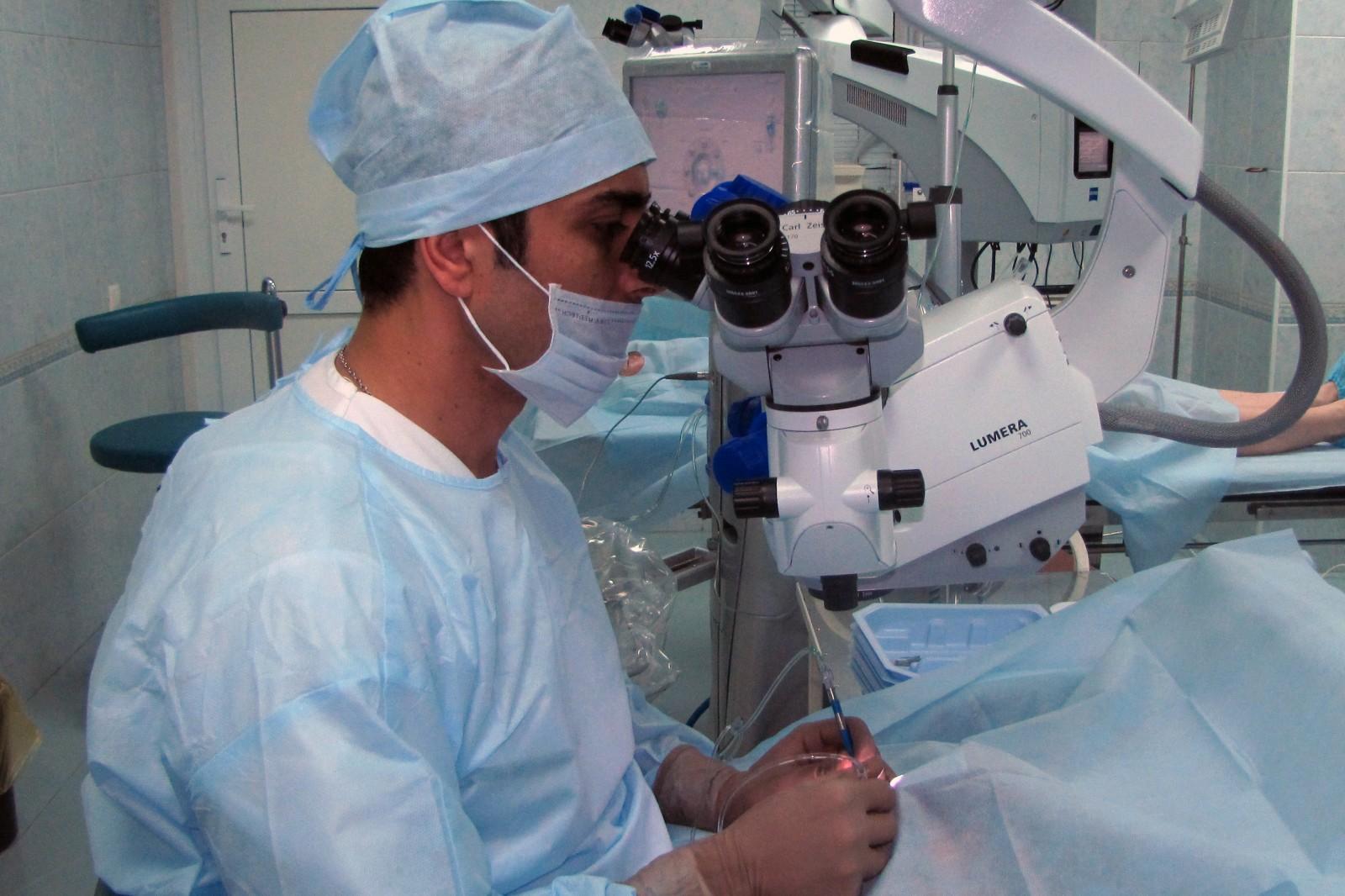 Коррекция органов зрения
