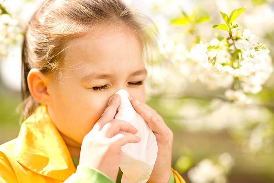 Аллергическая реакция у детей