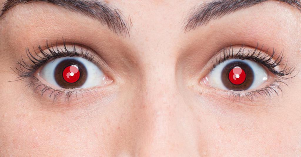 поудобней красный глаз смешная картинка грустью прощаюсь ней